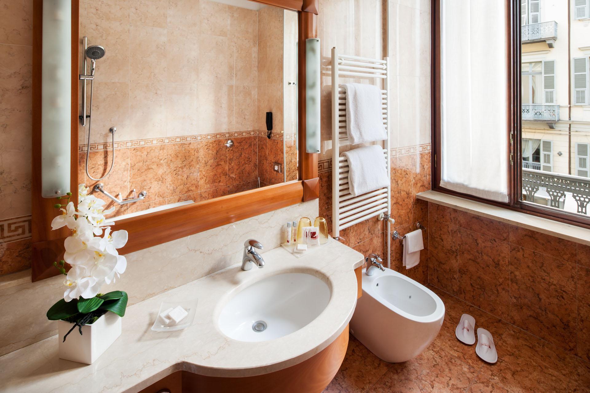 Suite and executive rooms hotel concord torino - Tisane per andare in bagno ...